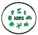 HOPE & CHANGE the world Logo